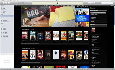 iTunesFrontPage